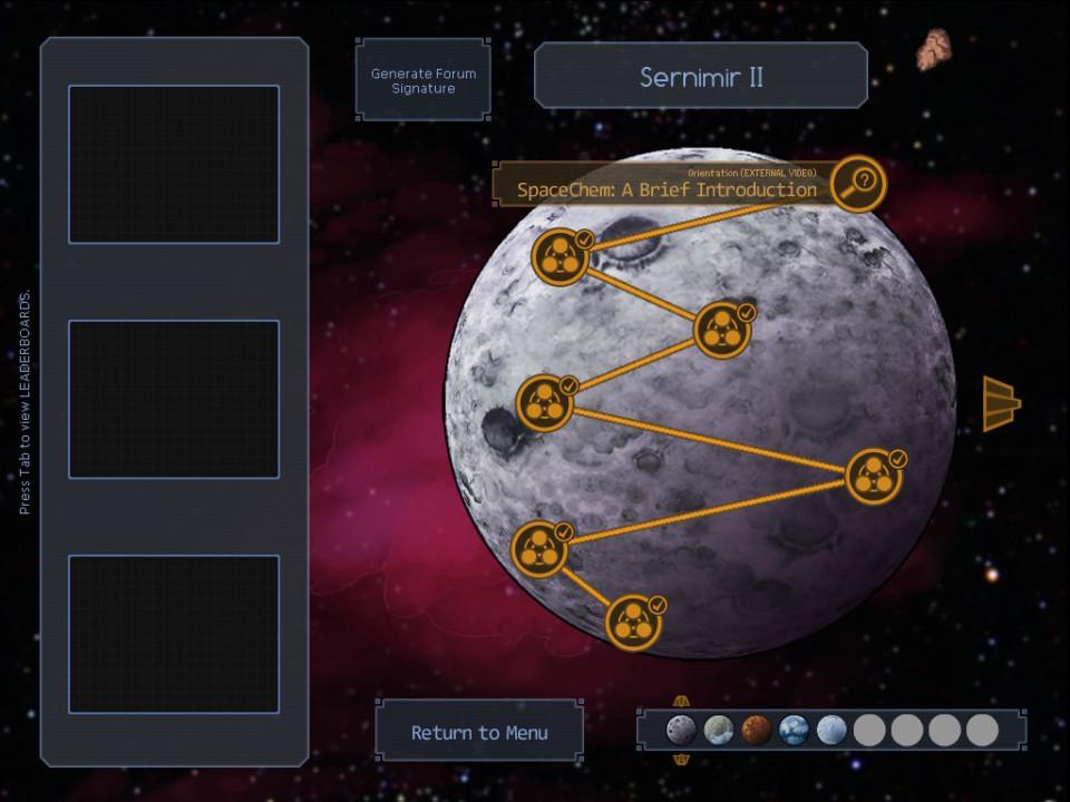 spacechem planety