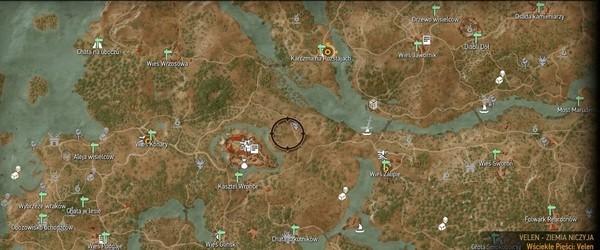 mapa Velen W3.